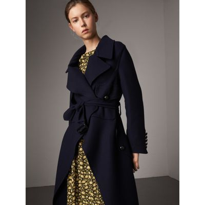 b168d8549ce A military wrap coat in double-faced wool and cashmere with regimental  crested buttons. Playing with volume, the slim silhouette is softened with  an ...