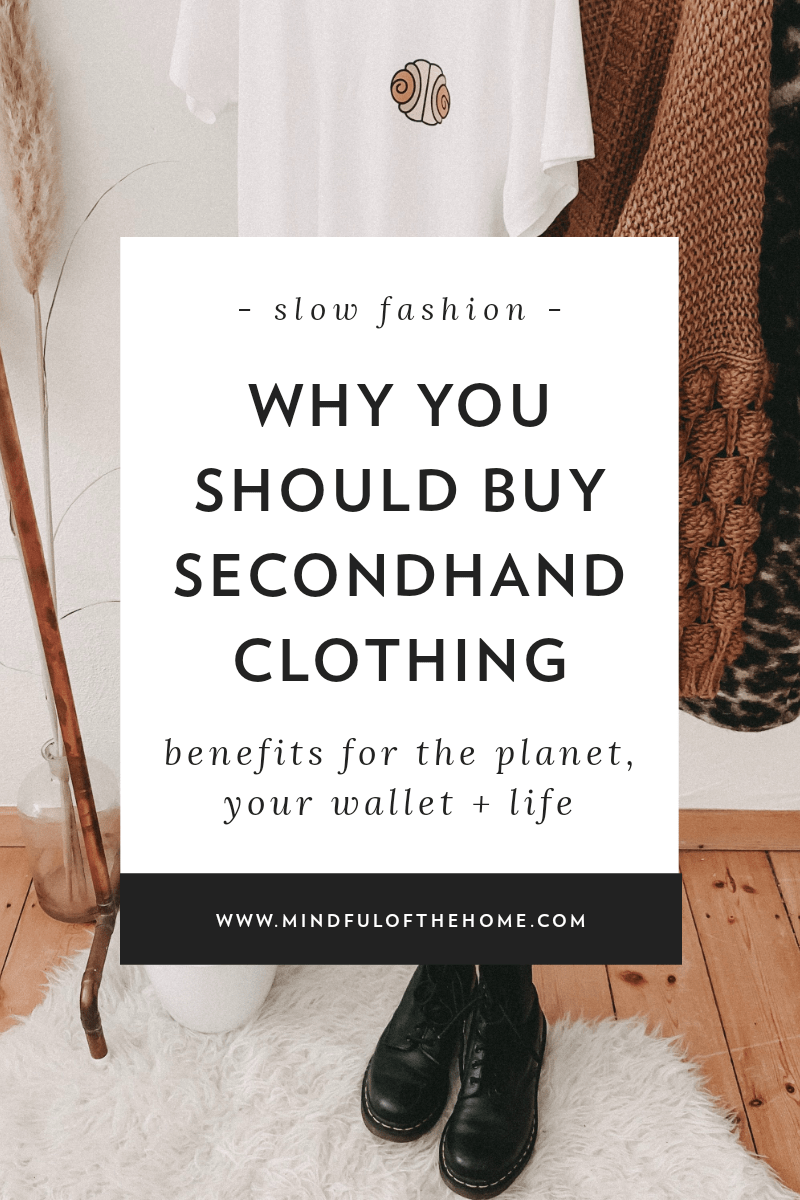 Why You Should Buy Secondhand Clothing It S Not Just Thrifty In 2020 Second Hand Clothes Stuff To Buy Sustainable Fashion Brands