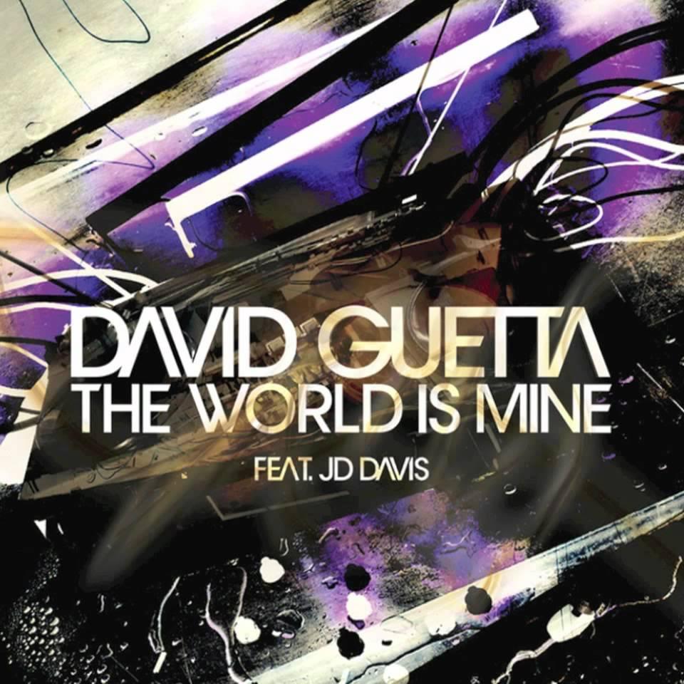 David Guetta, JD Davis – The World Is Mine (single cover art)