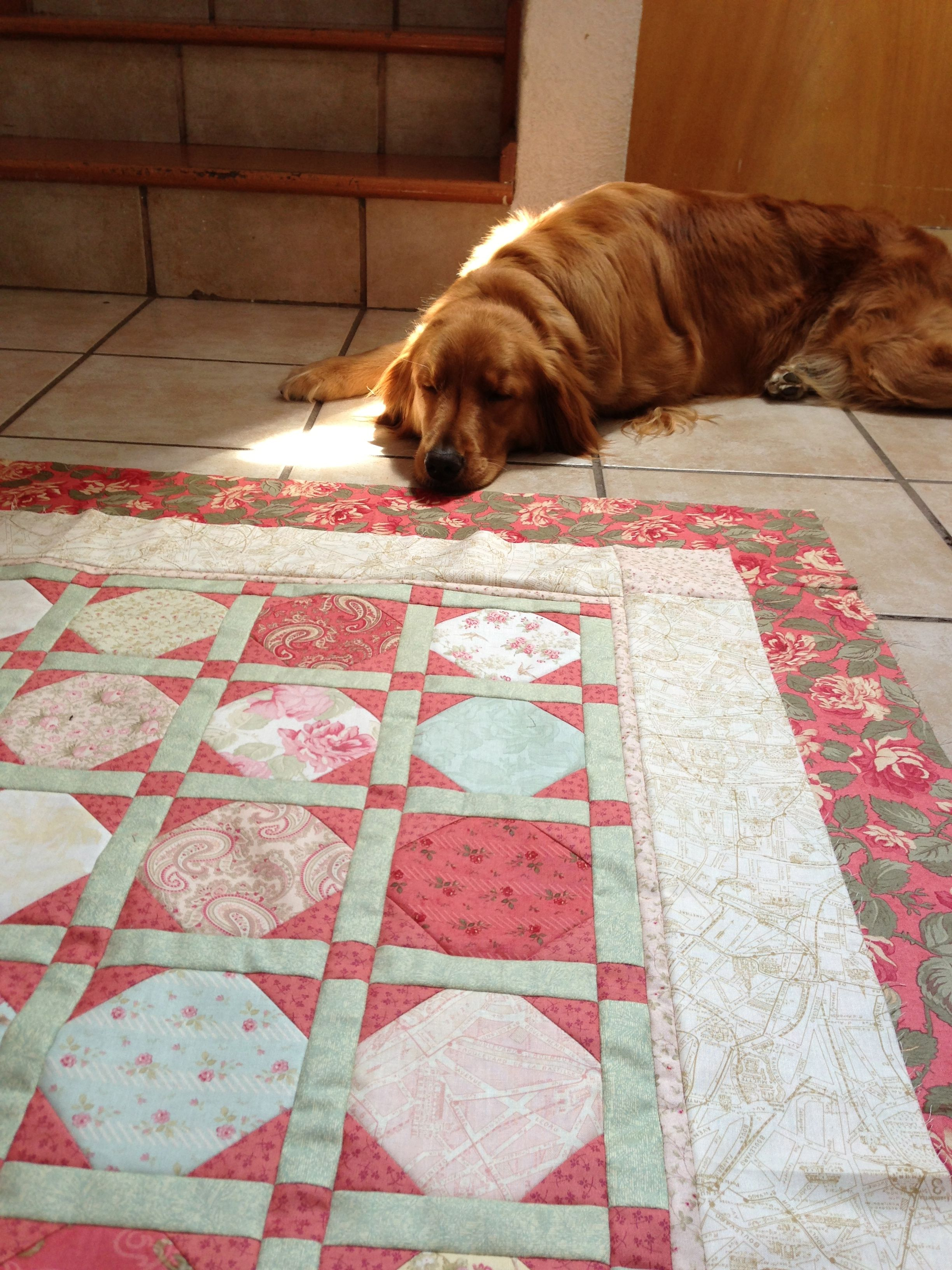 emilia and the paris flea market quilt