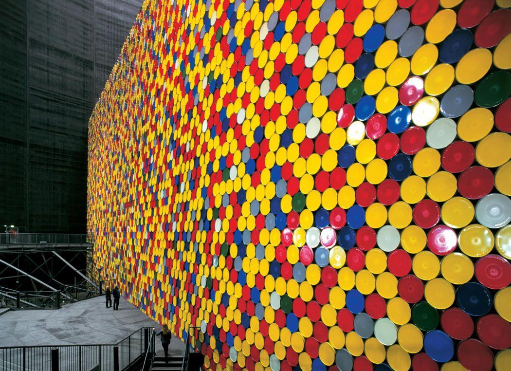 13000 Oil Barrels Installation | Oil barrel, Oil and Art installation