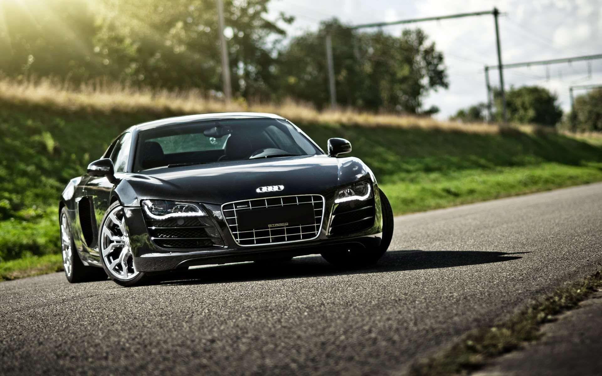 Luxurious Vw Sport Full Hd Car Wallpapers: Black Audi R8 Wallpaper HD Widescreen
