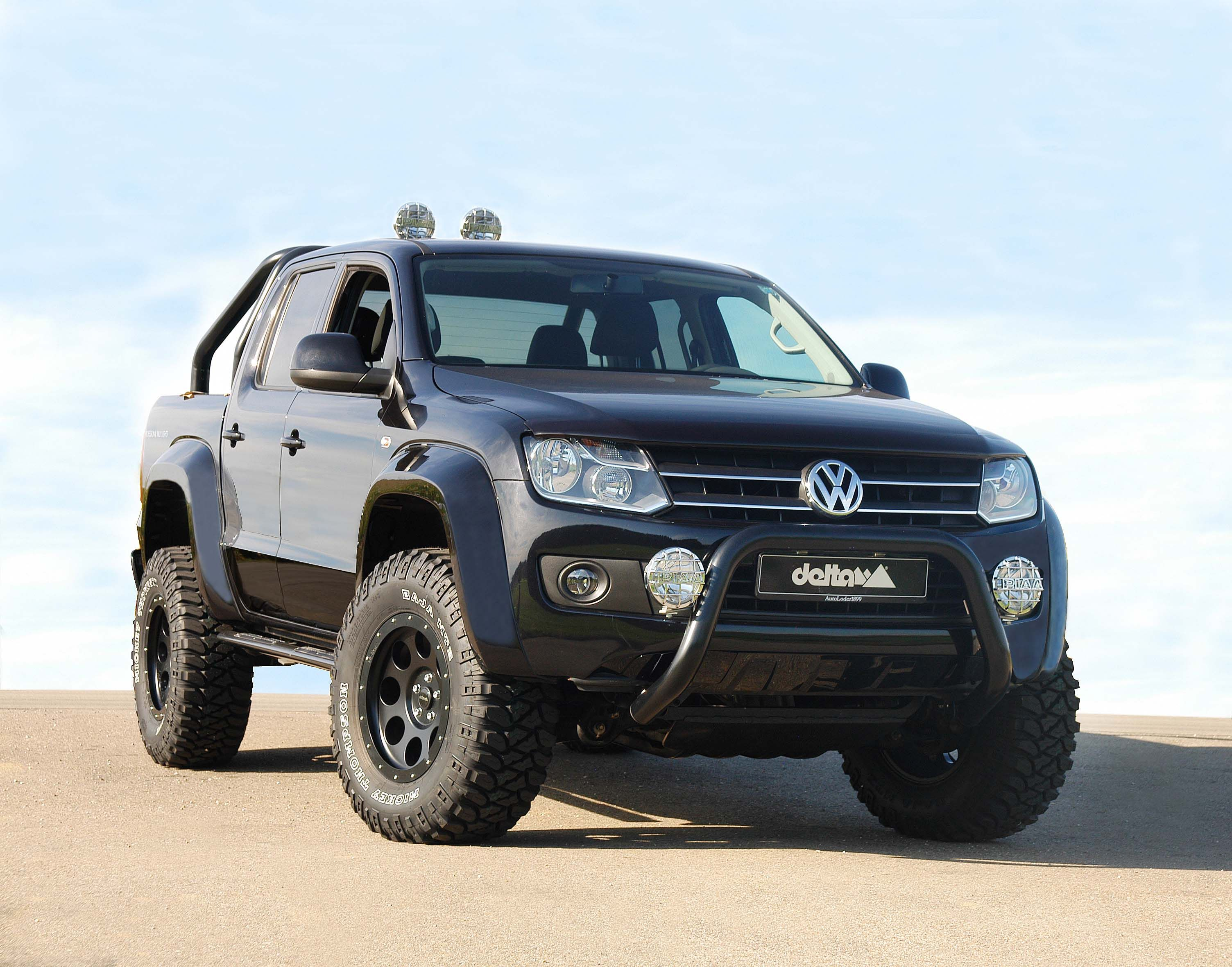Delta vw amarok beast off road kit introduced autoevolution for mobile