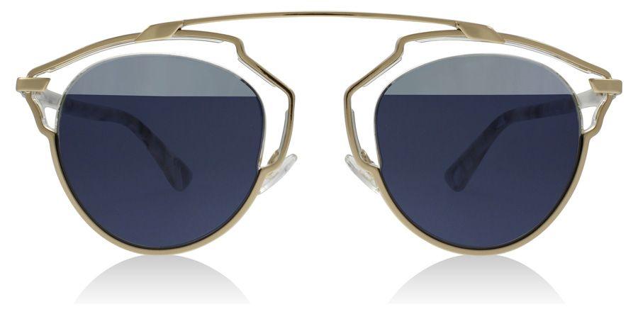 Christian Dior So Real Sonnenbrille Schwarz und Tortoise NT1ZJ 48mm PUAw6D