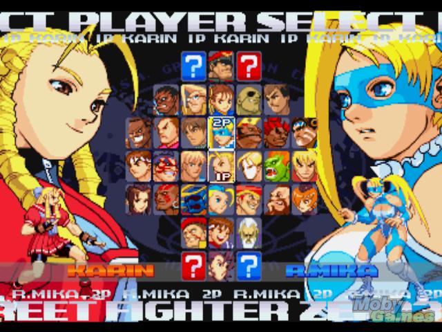 street fighter 2 vs screen template