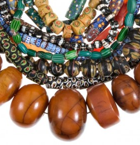 Beads From Around The World. Although we may not be able to visit Africa, Venice, or the Czech Republic in the near future, we can enjoy looking at gorgeous examples of the types of beads these countries are famous for, and so can you! Enjoy!