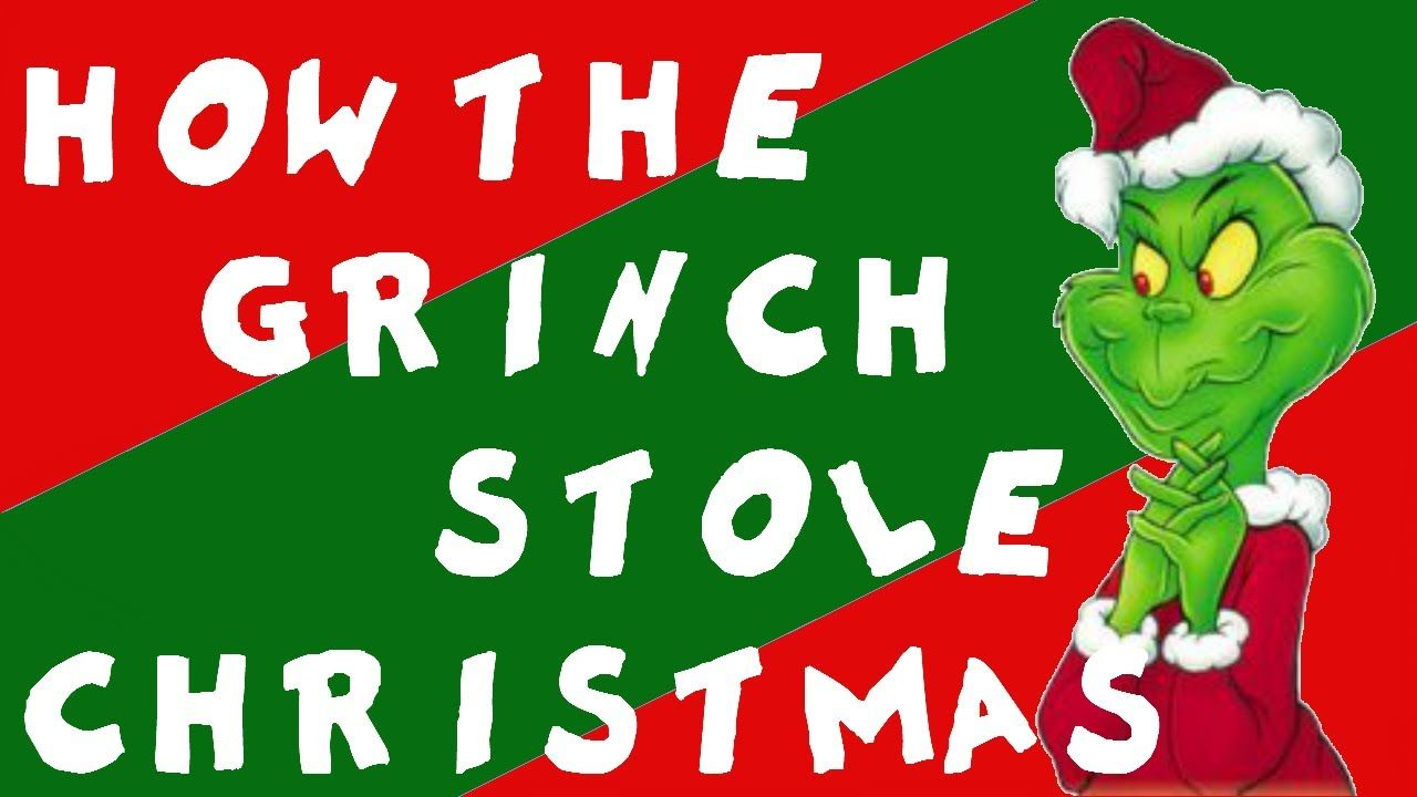 seuss how the grinch stole christmas video drawing the story as you listen to it fabulous very cute 10 min - How The Grinch Stole Christmas Video