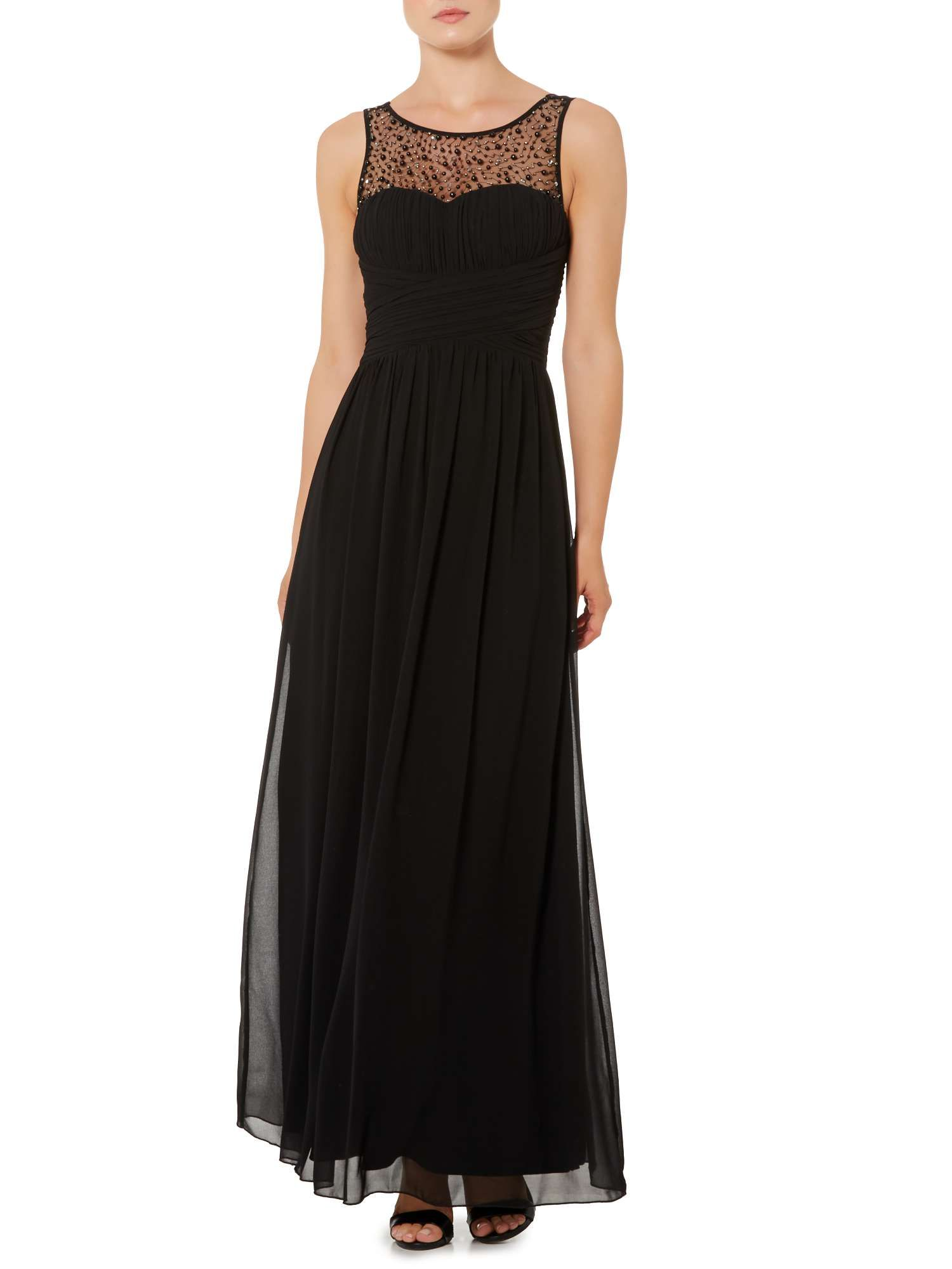 97faa394c85 Buy your Little Mistress Beaded Top Maxi Dress online now at House of Fraser.  Why