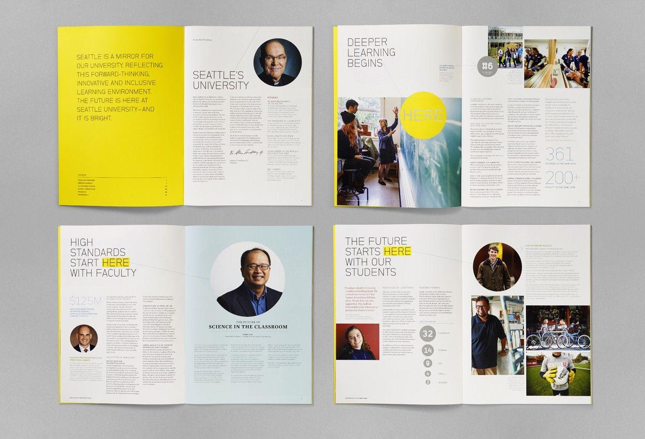 Http Www Turnstylestudio Com Work Detail Su 2014 Presidents Report Book Design Layout Booklet Layout Book Design