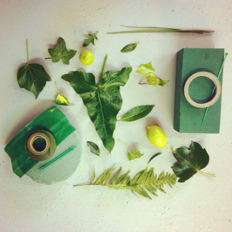 Gama de verdes en nuestro espacio floral reuni n para - Gama de verdes ...