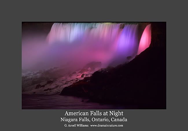 AMERICAN FALLS AT NIGHT,NIAGRA FALLS,ONTARIO,CANADA Photo:  This Photo was uploaded by survivor69. Find other AMERICAN FALLS AT NIGHT,NIAGRA FALLS,ONTARI...