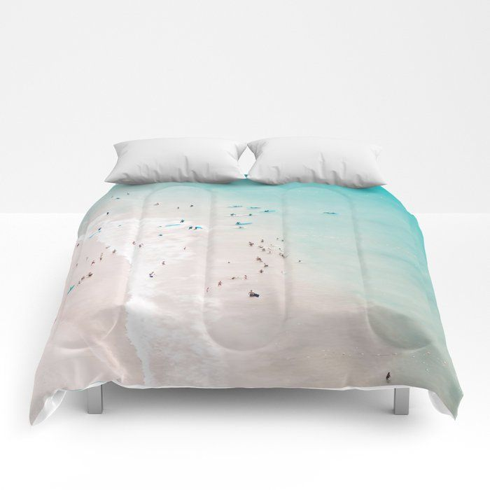 Photo of beach – summer love II Comforters by ingz