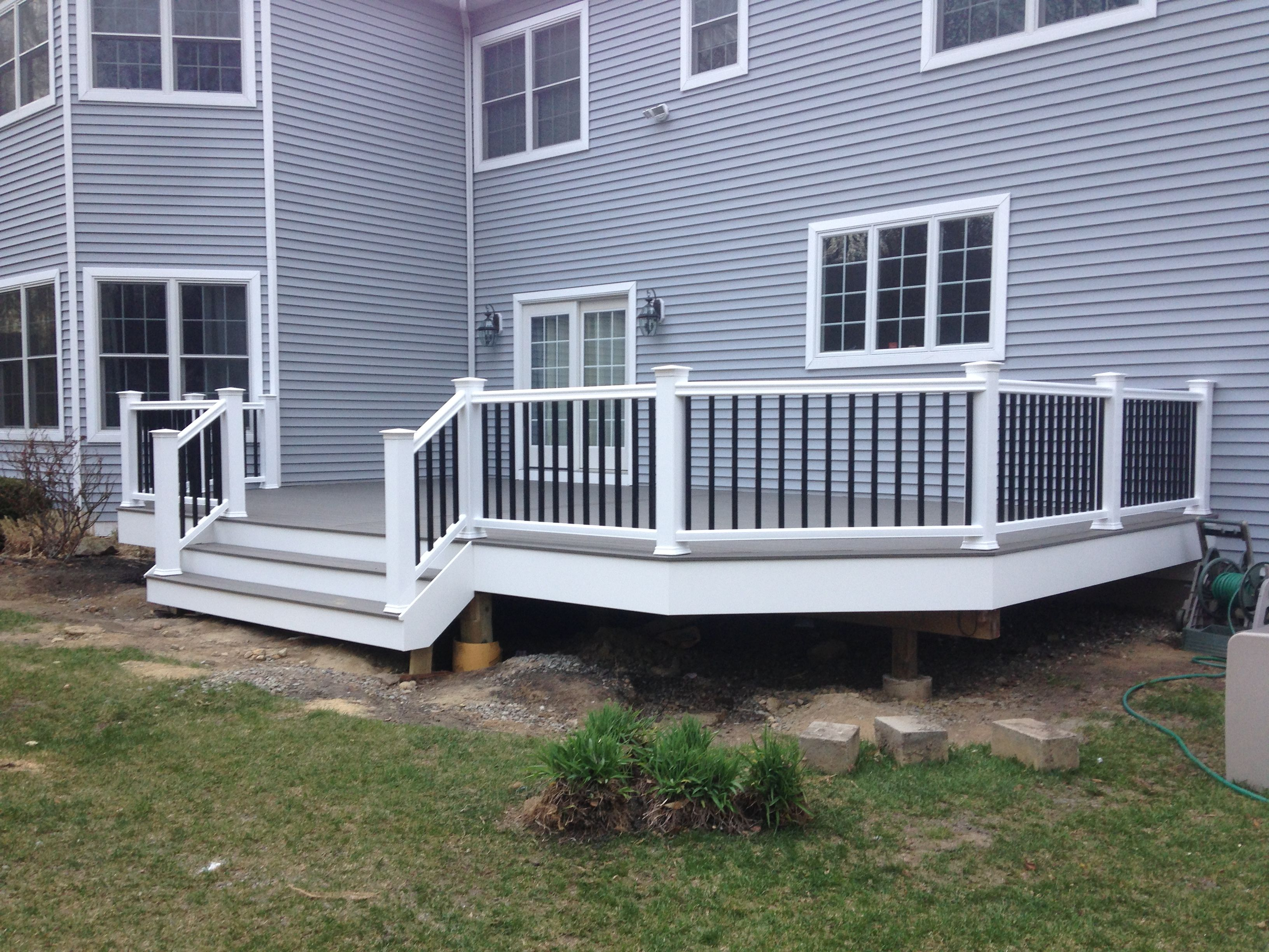 Decking Timbertech Terrain Composite Decking In Silver