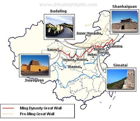the best 10 sections parts of the great wall to visit on great wall of china huanghuacheng id=52389