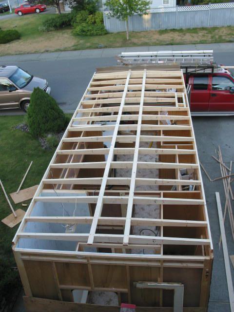 Repair Trailer Roof Rv Remodel Camper Repair Camper
