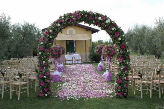 Addobbi Floreali Chiesa E Cerimonia Matrimonio Matrimonio Arco Floreale Floreale