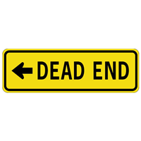 Dead End Traffic Sign Logo Signs Traffic Signs Dead Ends