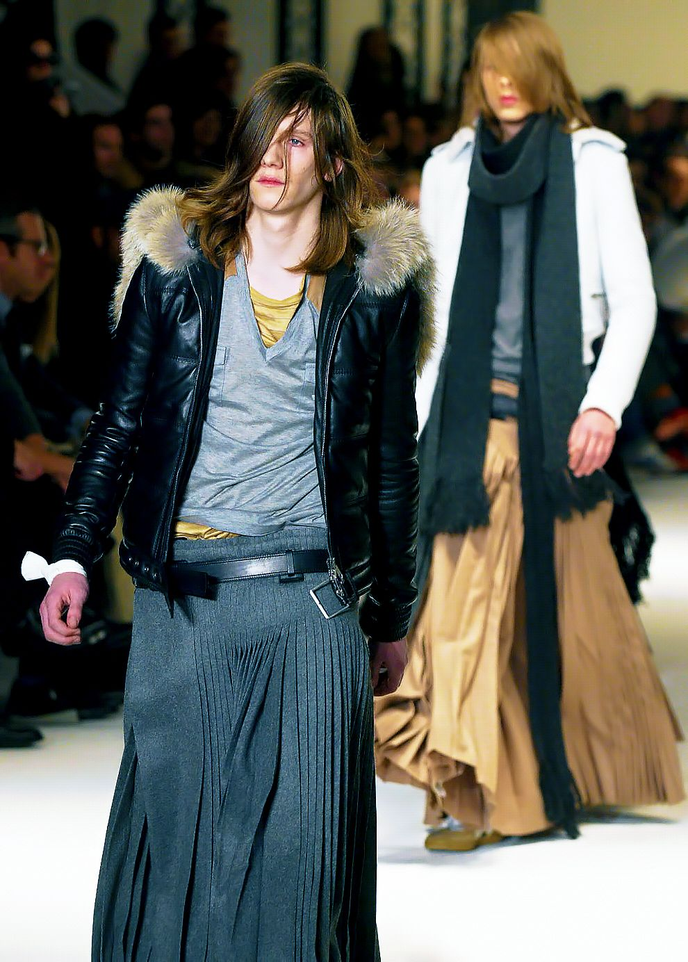 Dior Homme fall 2004 'VICTIM OF THE CRIME'