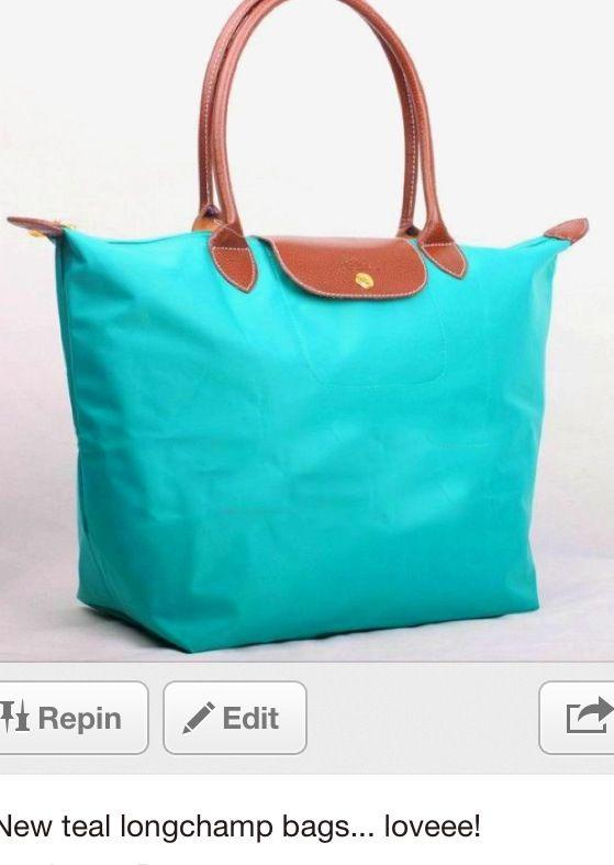 Teal longchamp bag only color I dont have and I like | Longchamp ...