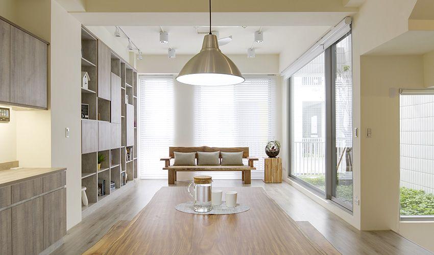 2019的三商美福 系統櫃 櫥櫃 家具 系統家具 裝修 裝潢 室內設計 木地板 超耐磨木地板 EGGER MEGAFLOOR 獨棟 獨立透 ...
