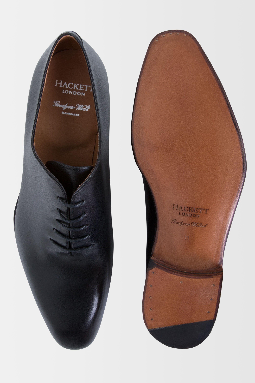 The Hackett One Piece Leather Shoe Men Hackett Shoes