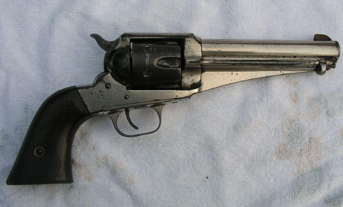 44 Remington Model 1875 C/AR136 Remington Model 1875 single