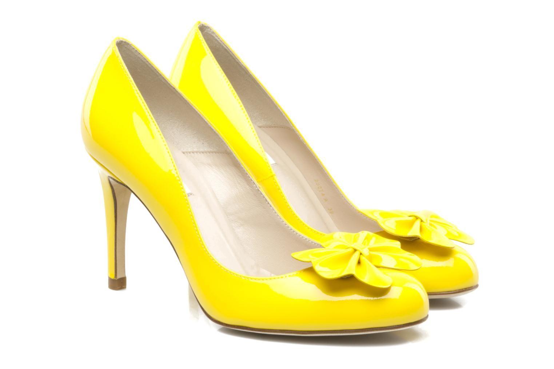 96562c046cc LK Bennett yellow Petal shoes. I like the orange too.