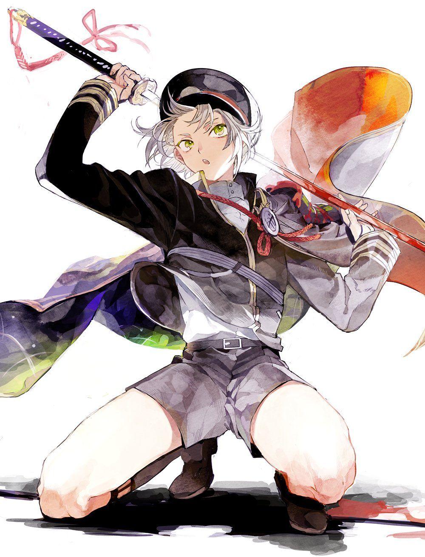 ごもさわ on in 2020 Character art, Anime artwork, Anime art