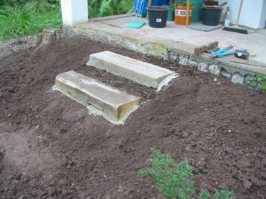 Stufen Im Garten Anlegen Sie Mussen Dieses Jahr Versuchen Von Garten Treppe Gartentreppe Selber Bauen 35 Inspirationen F Outdoor Outdoor Decor Stepping Stones