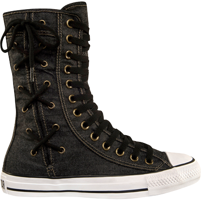 Converse Chuck Taylor All Star Hi Rise Boot X Hi BlackBlack