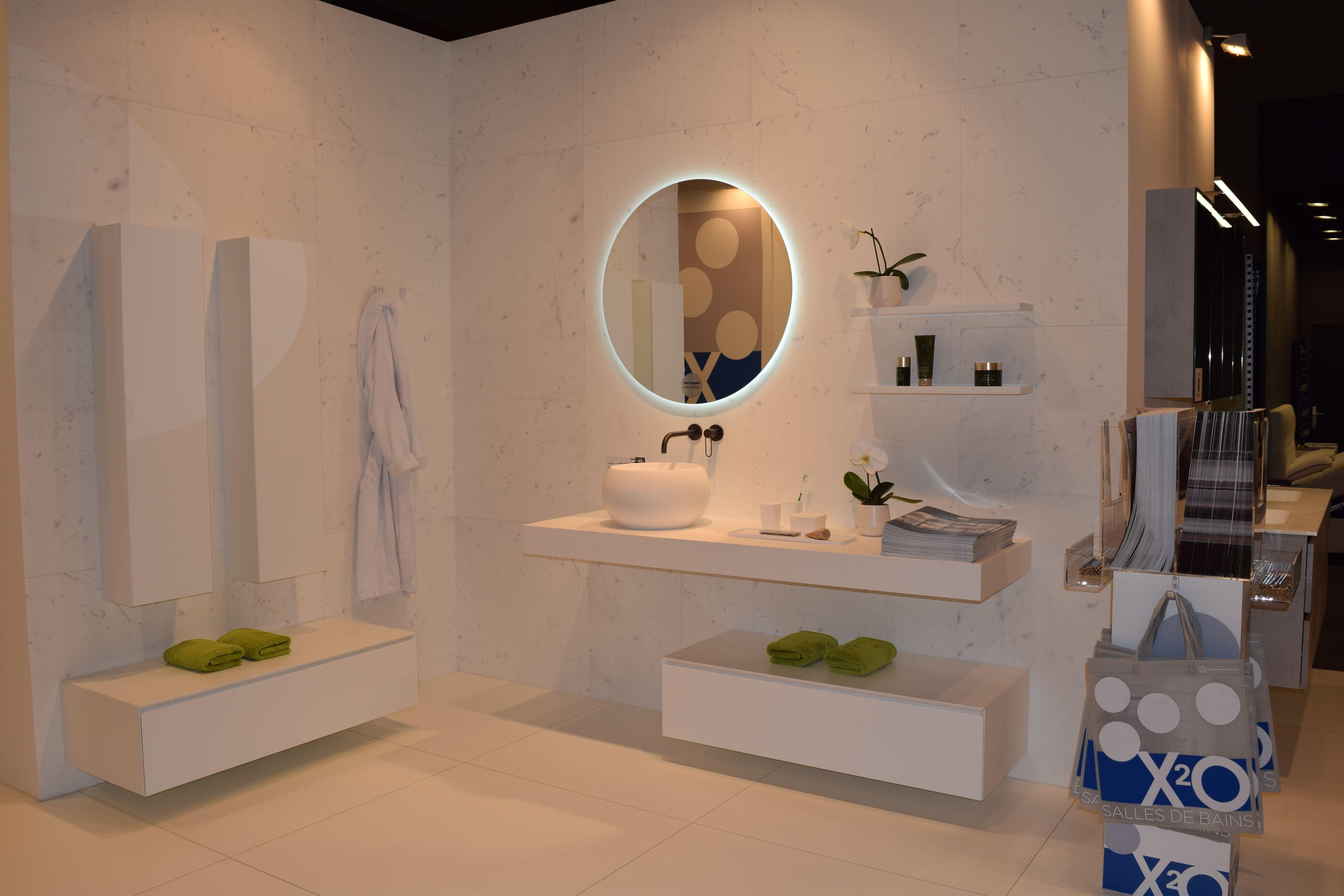 Ronde Spiegel Badkamer : Stijlvolle badkamer met diverse elementen de ronde spiegel met