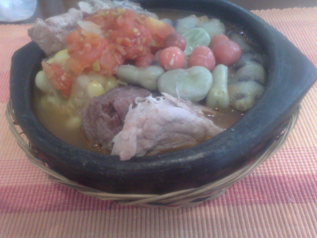 Cocido Boyacense Comida Típica Colombiana