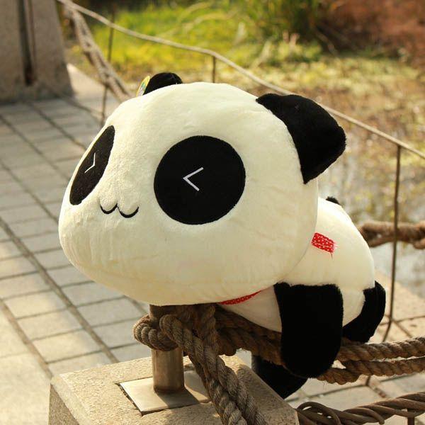 35 45 55cm Cute Panda Cushion Soft Home Car Seat Throw Pillow