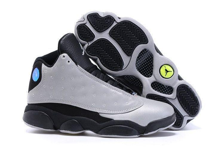 Air Jordan 13 Db Sur Les Hommes Tout En Noir