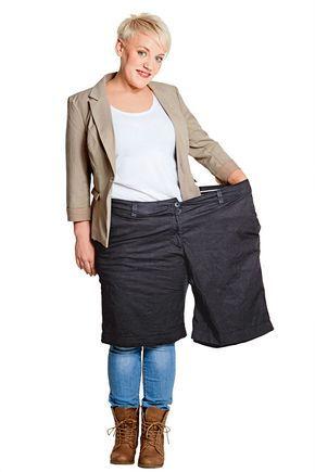 """Applaus: 46 Kilo abgenommenDurch eine Ernährungsumstellung und den Mix aus Pilates und Laufen verlor Isabell Rittenauer über 46""""‰Kilo. Zur"""