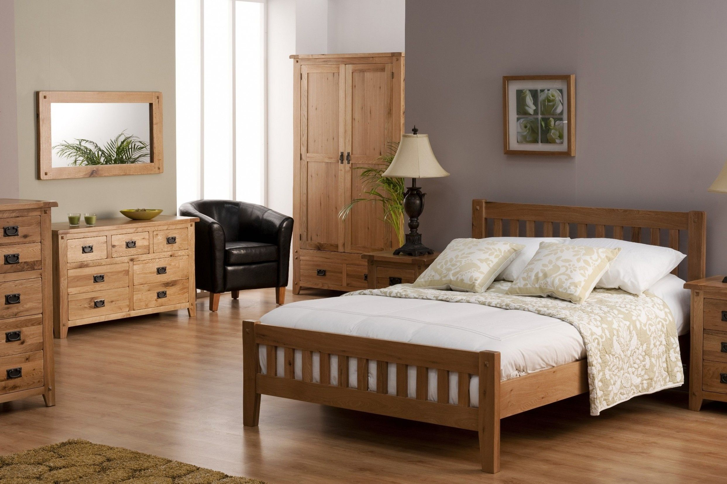 Bedroom Decorating Ideas Oak Furniture