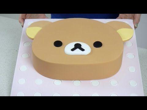 Rilakkuma Cake tutorial