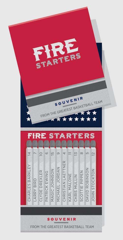 Fire Starters: The Dream Team. chriscureton.com