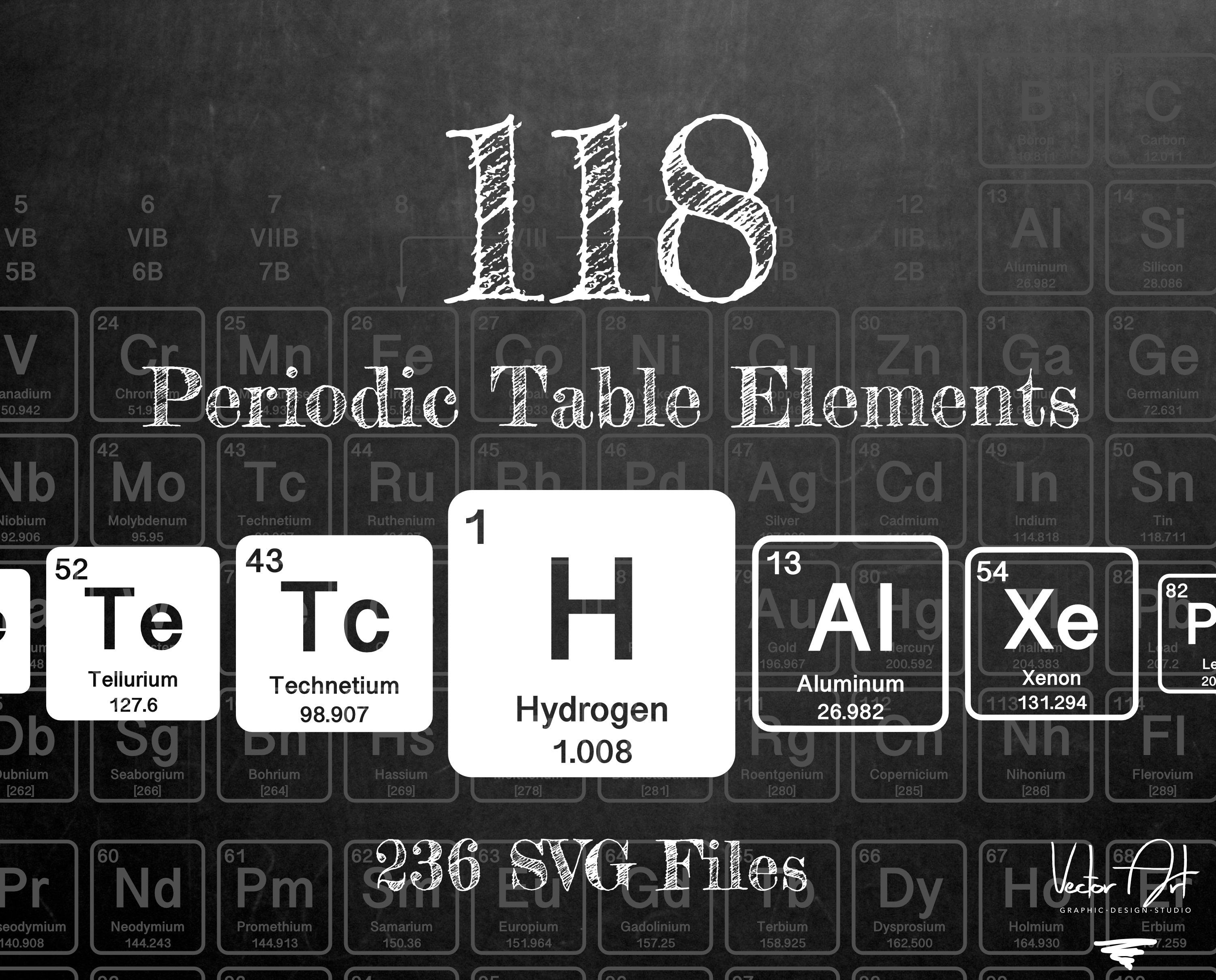 6,650 Periodic Table Of Elements Illustrations, Royalty-Free Vector  Graphics & Clip Art - iStock