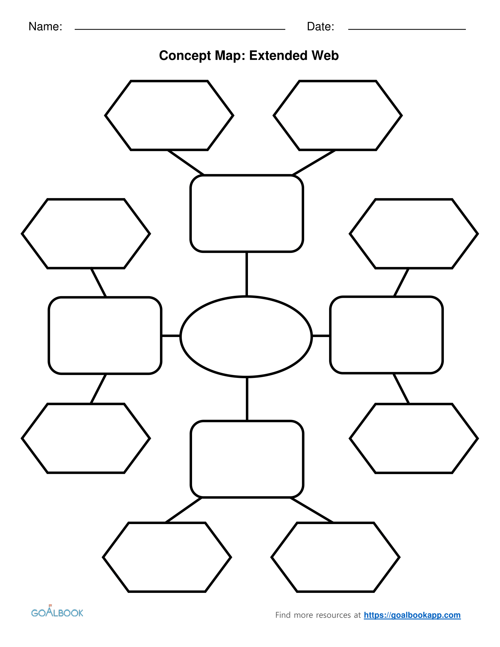 Extended Web Graphic Organizers Graphic Organizers Free Graphic Organizers Graphic Organizers Science [ 2200 x 1700 Pixel ]