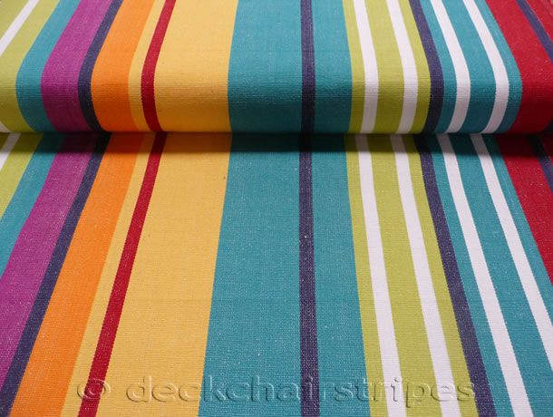 Deckchair canvas fabric for recovering deckchairs and directors chairs # canvas #stripes #thestripescompany  & Deckchair canvas fabric for recovering deckchairs and directors ...