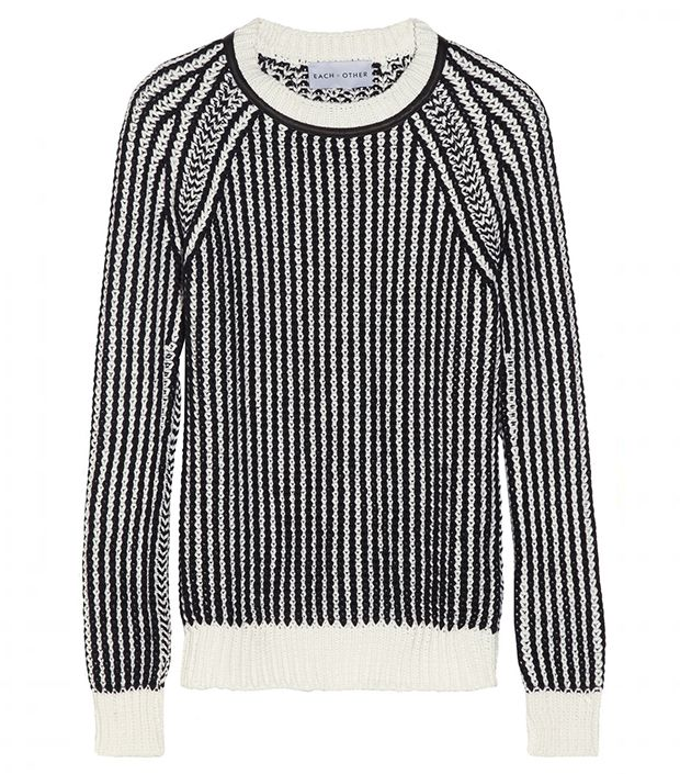 Black and White Striped Sweater from Net-a-Porter