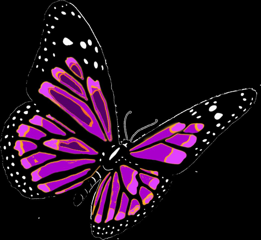 Aparador Retro Verde ~ Borboleta roxa PNG roxo borboletas voando  Butterflies  Pinterest Borboleta roxa