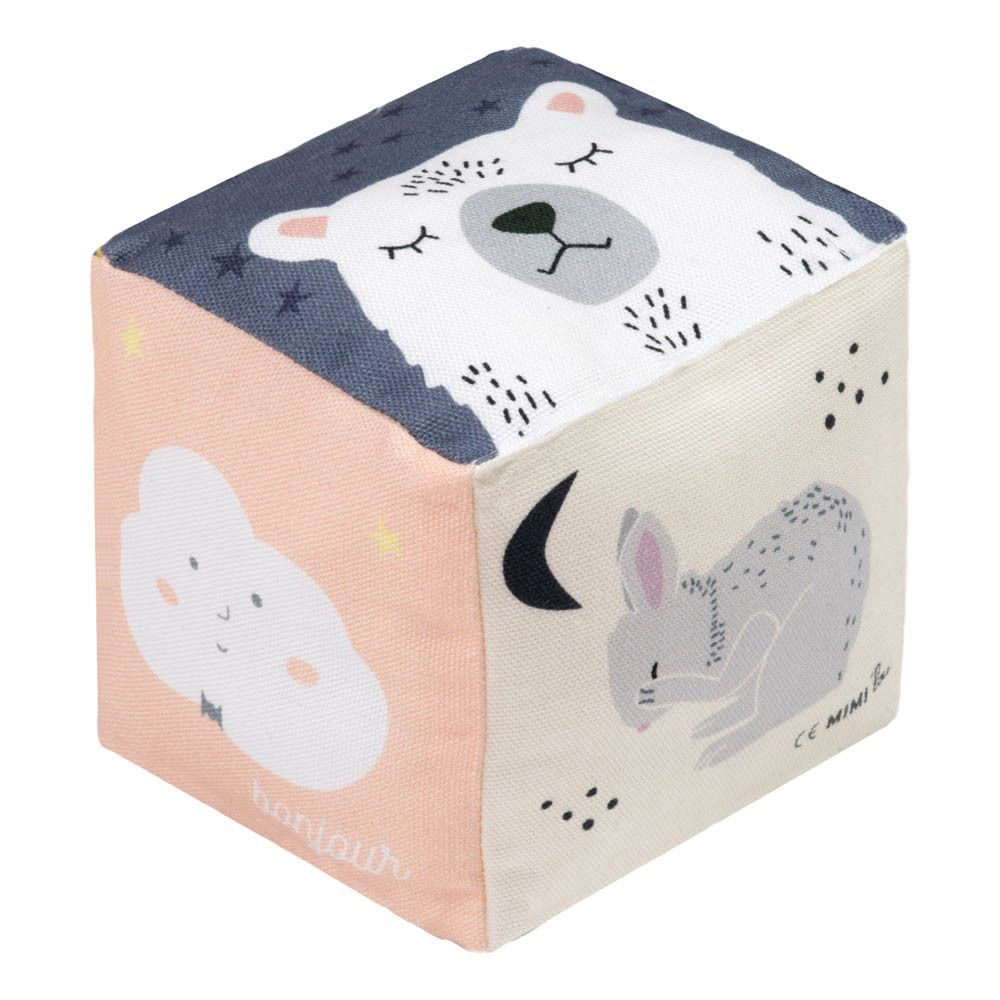 Würfel aus Stoff Bonjour Spielwürfel, Geschenke für