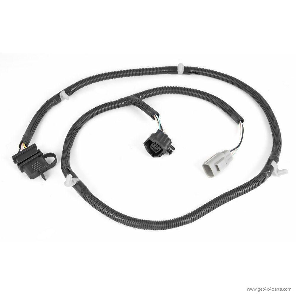 trailer wiring harness 07 16 jeep wrangler jk [ 1000 x 1000 Pixel ]