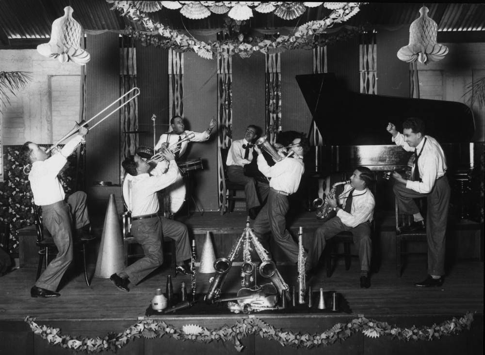 Crystal Palace Orchestra Playing In Brisbane About 1929 Speakeasy Crystal Palace Brisbane