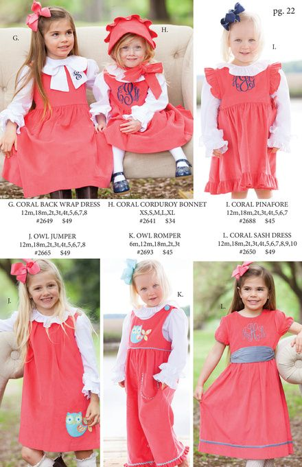 b8359462c2a9 Shrimp and Grits Kids Fall 15'' Catalog ummm all of it?! | To Dress ...