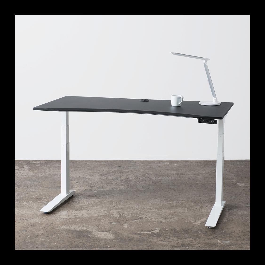 Jarvis Powdercoat Adjustable Standing Desk | Ergo Depot | Ergo ...