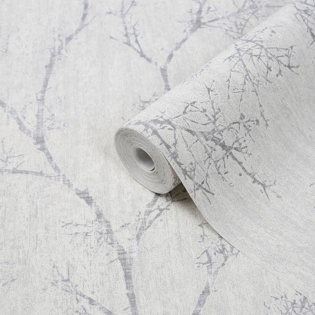 Tapeta Winylowa Na Flizelinie Goodhome Drave Biala Tapety Dekoracyjne Textured Wallpaper Diy Wallpaper Goodhome