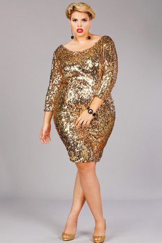 4289974b Plus-Size New Years Eve Dresses - Cute, Sparkly Styles | Jennifer's ...